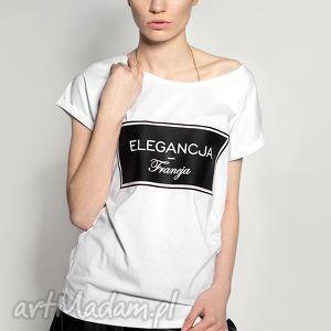 unikalne prezenty, koszulka elegancja francja, tshirt, nadruk, urodziny, prezent