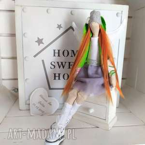Anioł łucja na pamiątkę chrztu, stróż, podziękowanie lalki