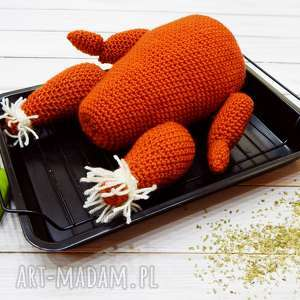 handmade zabawki zabawka - kurczak pieczony