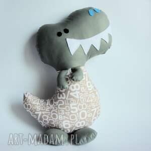 dinozaur t-rex - franek 42 cm, dinozaur, zabawka, poduszka, dziecko, chłopczyk