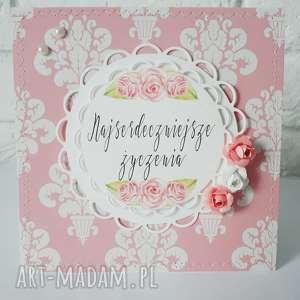 Kartka urodzinowa/imieninowa, urodziny, kobieta, personalizacja, imieniny, życzenia