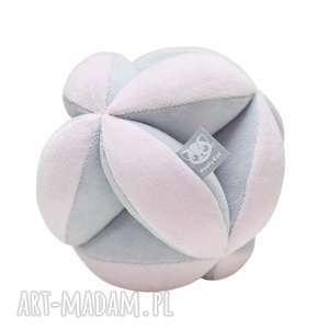 Piłka takane szaro-różowa poofy cat zabawki takane, piłka
