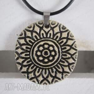 naszyjniki indyjski naszyjnik ceramiczny, naszyjnik, wisior