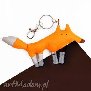 pan lis odblaskowy, lis, las, brelok, bawełna, bezpieczny
