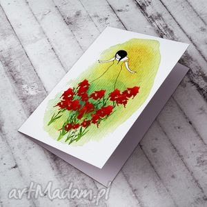 hand-made kartki karteczka na życzenia...