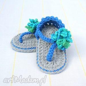 sandałki casablanca, bawełna, lato, niemowlę, dziewczynka, buciki, prezent