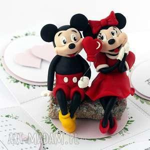 exploding box walentynki ślub myszka mickey - minnie, życzenia, ślub