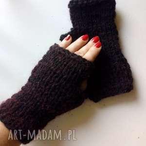the wool art rękawiczki miyenki, rękawiczki, mitenki, wełniane, nadrutach