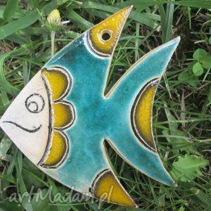 dekoracje fish, rybka, ryba, ceramiczna, zawieszka, ceramika, świąteczny prezent