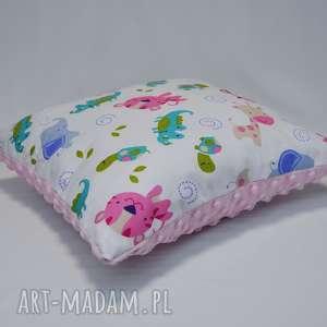poduszka minky z bawełną do wozka, poduszka, jasiek, minky, bawełna, ozdoba