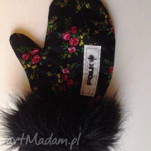 handmade rękawiczki rękawiczki zimowe folk design aneta larysa knap