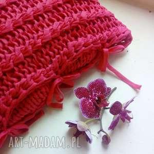 Poszewka na poduszkę ribbon poduszki the wool art poszewka