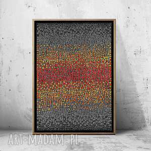 Plakat 50x70cm, plakat, obraz, abstrakcja, dom, wnętrze
