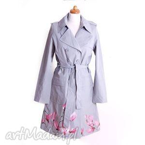 ręcznie wykonane płaszcze malowany wiosenny płaszcz