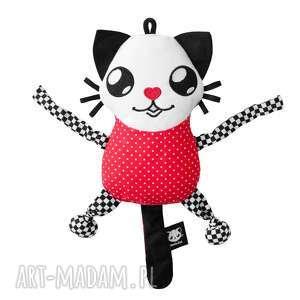 handmade zabawki maskotka sensoryczna - poofy cat senso