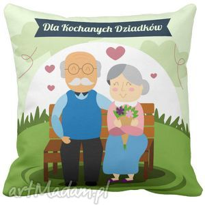 Poduszka na Dzień Babci i Dziadka dla kochanych dziadków 6695 - poduszka, dzień