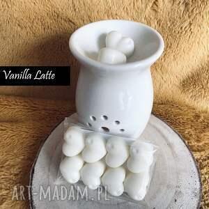 dom vanilla latte - wosk sojowy zapachowy do kominka serduszka