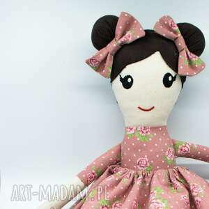Szmaciana lalka, pluszak, lalka dla dziewczynki, ręcznie szyta