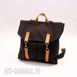 handmade plecak czarny