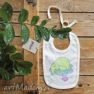 trąbalski zielony śliniak, śliniaczek, organic, slon