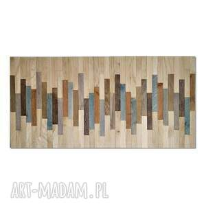 obraz z drewna, dekoracja ścienna - mozaika /2/