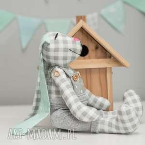 królik miś z imieniem personalizacja, królik, miś, imię, personalizacja maskotki