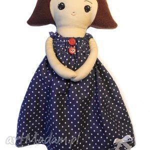 Lalka Basia - skromna i grzeczna, szmacianka, lalka, zabawka, przytulanka