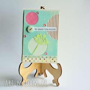 kartki kartka - w dniu urodzin 3, kartka, elegancka, urodzinowa, kobieta, romantyczna