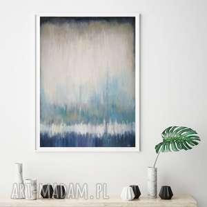 abstrakcja-obraz akrylowy formatu 40/50