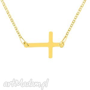 hand-made naszyjniki celebrate - cross - necklace g