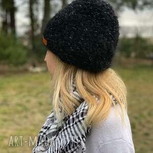 ciepłą czapka, ciepłaczapka, nadrutach, prezent, czarna