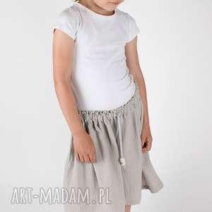 Prezent Muślinowa spódnica, dziewczynka, lato, muslin, prezent