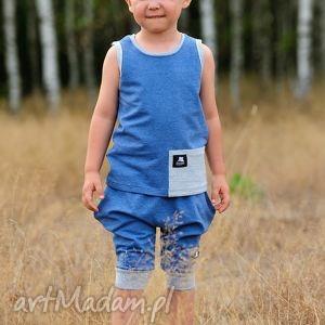 ubranka krótkie niebieskie spodenki dla chłopca, spodenki, lato, wygoda, moda
