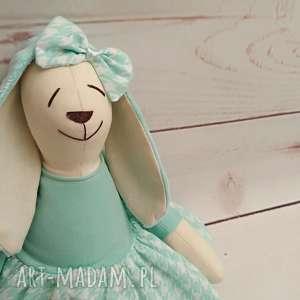 ręcznie robione maskotki króliczek tilda przytulanka