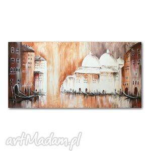 obrazy wenecja - impresja , obraz akrylowy, obraz, obrazy, ręcznie, malowane