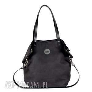 TORBA WOREK SIMPLE #BLACK SKIN, torba, wygodna, podręczna, na-wycieczkę, na-zakupy