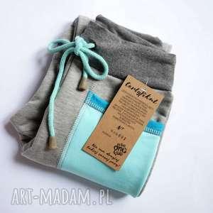 ONLY ONE No 001 - spodnie dziecięce 122 cm , dres, recykling, eco, bawełna