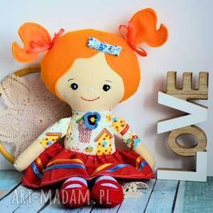 lalka rojberka - słodki łobuziak oliwka 50 cm, lalka, folk, domek dla ptaka