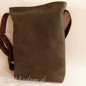ręcznie wykonane torba listonoszka skórzana męska