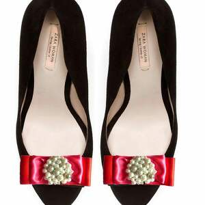 pearls - klipsy do butów, kokardy, perły, klipsy, buty, spinki, ozdoby