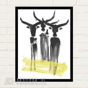 ręczne wykonanie plakaty buffalo plakat 30x40