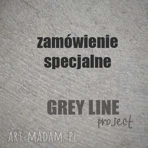 Zamówienie specjalne dla pana roberta naszyjniki grey line