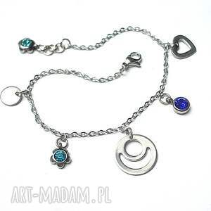 hand made bransoletki alloys collection - line blue heart vol. 2