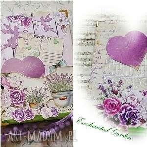 pamiętnik/ sekretnik /postcards/ spełnienia marzeń, notes, pamiętnik, fairy