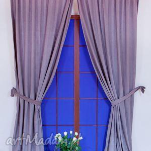 zasłona velvet beż, zasłona, zasłony, velvet, aksamitna, dekoracje okna