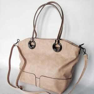 Torba pudrowy róż 01, torba, torebka, worek
