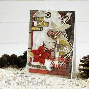 kartka świąteczna - boże-narodzenie, kartka-świąteczna