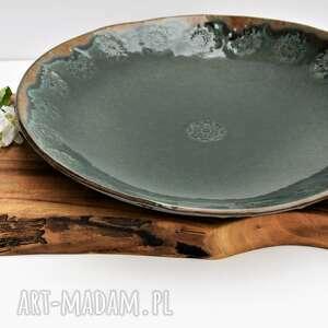 Patera ceramiczna z ornamentem ceramika tyka ceramika, patera