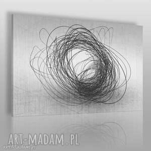 ręczne wykonanie obrazy obraz na płótnie - abstrakcja nowoczesny - 120x80 cm (16101)