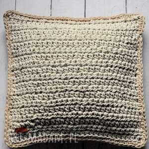 The Wool Art dekoracyjna poszewka ze sznurka